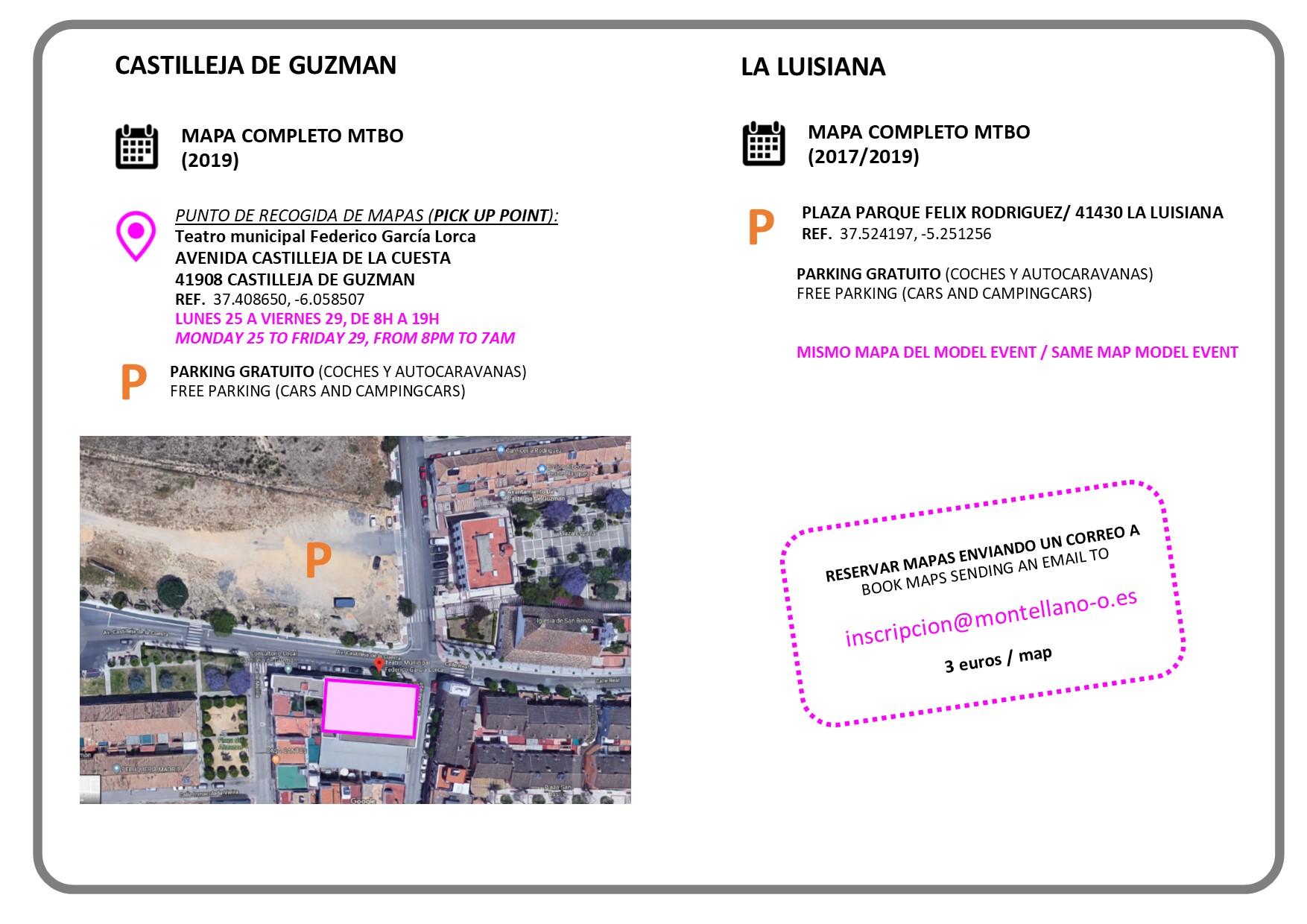 INFORMACION ACCESO TRAINING MAPS2