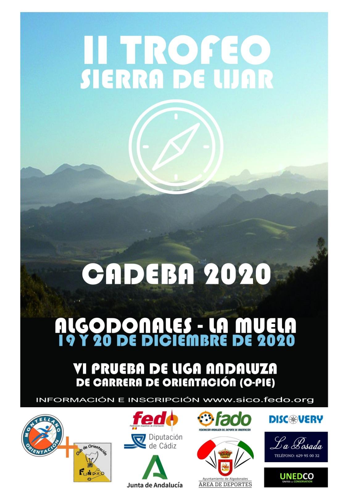 Cartel II Trofeo Sierra de Líjar