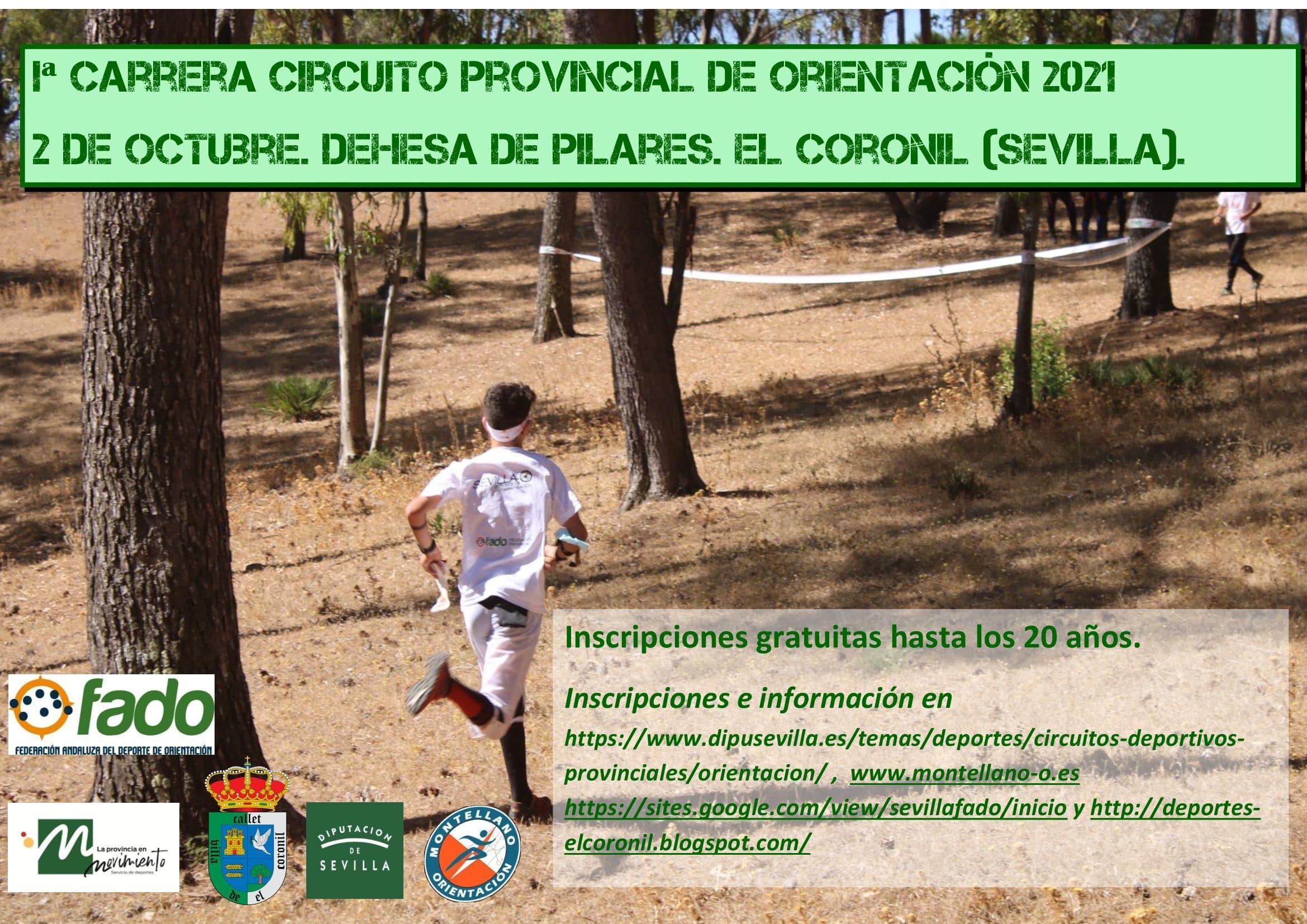 Cartel Iª Provincial Pilares 2021